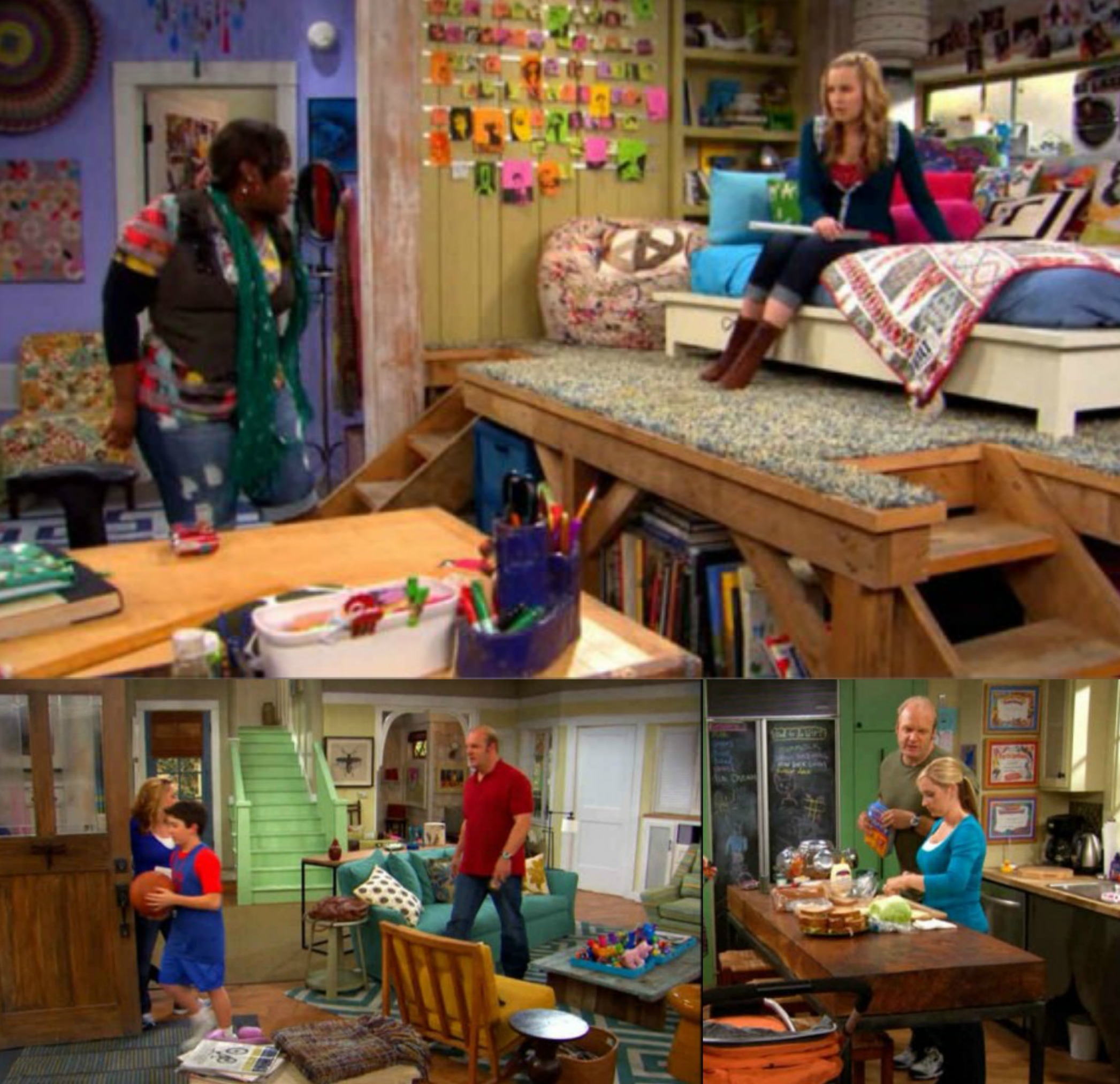 Interiors I Love Good Luck Charlie on wizards waverly place 07